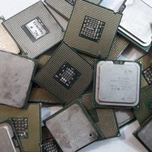 Процессор пластмассовый С металлической пластиной без ног